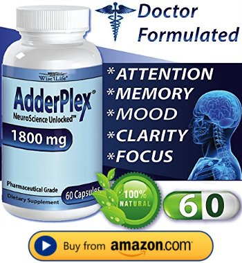 Alternative to Adderall Buy AdderPlex