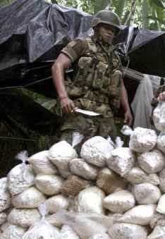 Colombia cocaine prduction spikes